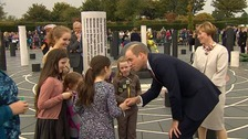 Duke of Cambridge marks Milton Keynes anniversary