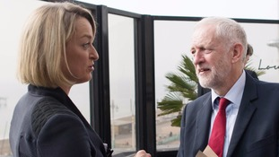 Mr Corbyn called for the abuse of Laura Kuenssberg to stop.