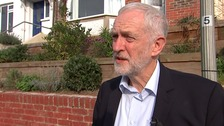 Jeremy Corbyn says run on pound under Labour a 'serious' concern