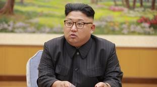 North Korea accused the US of declaring 'war'.