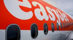 An easyJet plane.