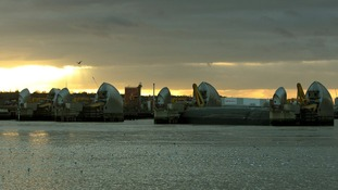 Thames Barrier.