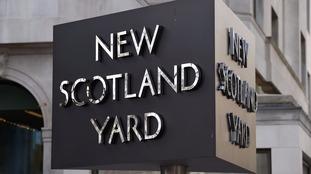 Scotland Yard stock image.