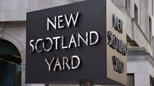 Scotland Yard stock image.