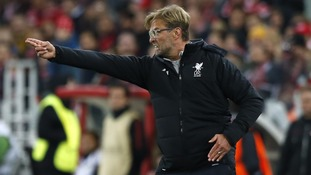 Jurgen Klopp has bemoaned Liverpool's bad luck as his side could only draw against Spartak Moscow despite domination