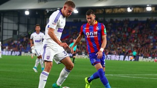Luke Woolfenden impressed for Ipswich against Crystal Palace in the EFL Cup earlier this season.
