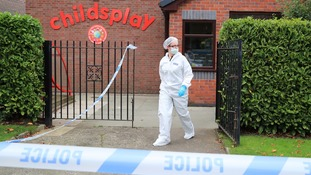 Police hunt 'gunman' who walked into Liverpool nursery in 'targeted' incident