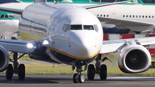 Ryanair is suspending 34 routes from November including two from Stansted airport in Essex.