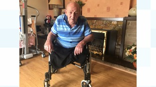 Peter Clarke's £3000 scooter was taken from his garden shed but he says new tools and a mower were left behind.