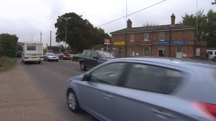 The main road through Melton in Woodbridge is to be closed for a total of four months for services to be connected to a new housing estate.