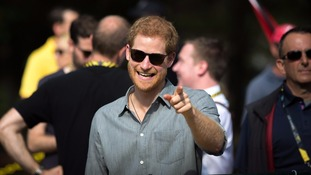 Prince Harry is currently in Toronto at the Invictus Games.