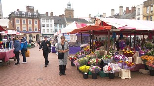 Traders fear for the future because of proposed changes to the layout of Northampton's historic market.