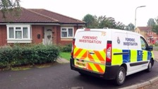 Jane Hings was found in her bungalow in Elizabeth Road shortly after 8am.