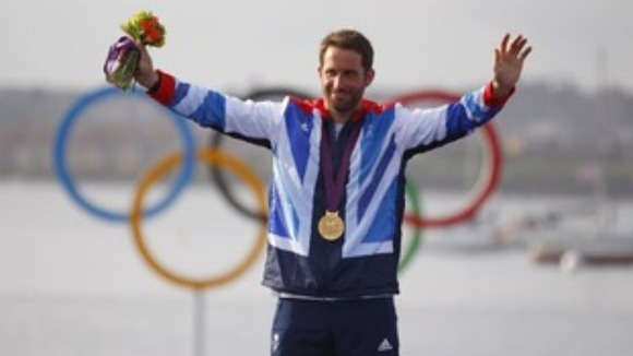 Olympic sailing legend Ben Ainslie
