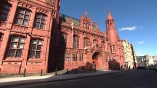 Exterior of Birmingham Magistrates Court