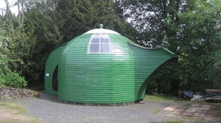 The teapot shed as it was originally designed.