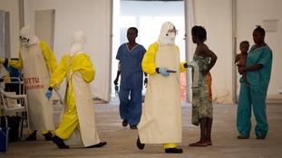 A hospital in Liberia in 2015.