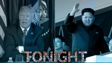Adam Shaw reports on Trump V North Korea: Could War Happen? - ITV at 7:30pm on Thursday 28th September