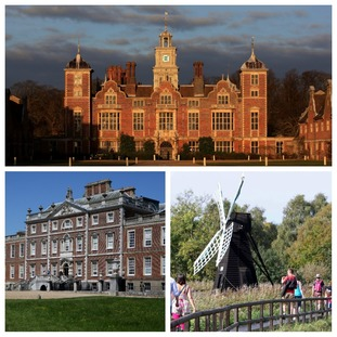 Blickling Hall, the Wimpole Estate and Wicken Fen are all big tourist attractions in the East.