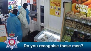 Derbyshire Police has released CCTV of the crime.