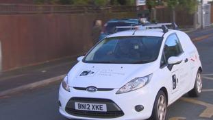 CCTV car