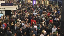 All lines are blocked into London Euston.