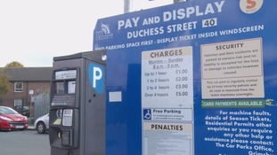 The old £1 coins will no longer be accepted by council-owned pay and display machines