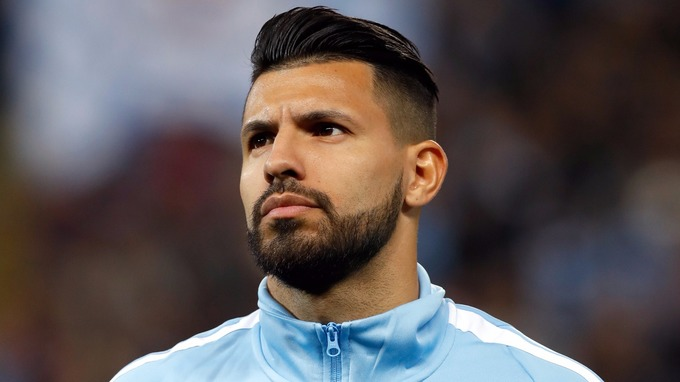 Sergio Aguero Manchester City Striker Injured In Car Crash ITV News - Aguero hairstyle new