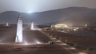 There is a plan to colonise Mars.