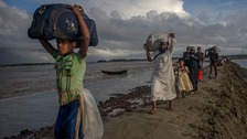 More than 500,000 Rohingya have fled to Bangladesh in recent months