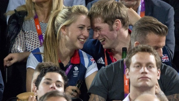 Laura Trott and Jason Kenny