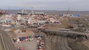 Hinkley Point C begins to take shape