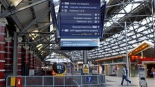 Journeys to Liverpool Lime Street will be severely disrupted for three weeks.