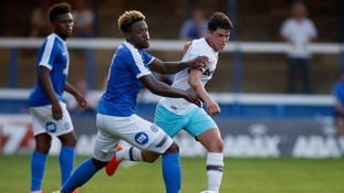 Jermaine Anderson: Peterborough man signs new deal