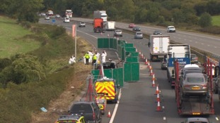 Three people killed in M5 crash named by police