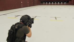 Behind the scenes of armed police training