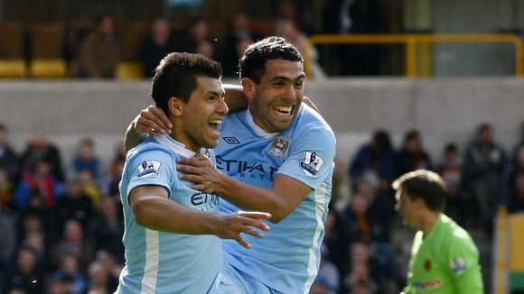 Tevez and Aguero