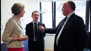 Theresa May, Alun Cairns, Andrew RT Davies