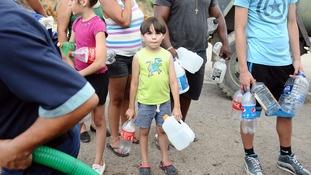 Water supplies in Puerto Rico