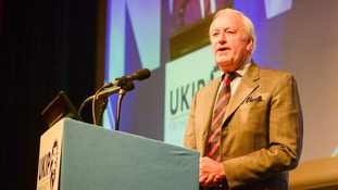 Neil Hamilton at the UKIP conference