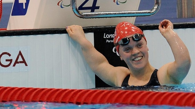 Ellie Simmonds won four medals and broke two world records at London 2012