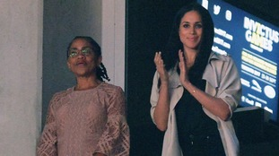 Meghan Markle watches Prince Harry at closing ceremony of Invictus Games
