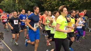 Basingstoke half marathon underway: Can you spot yourself at the start?