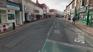 Silver Street in Doncaster