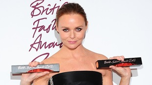Fashion designer Stella McCartney