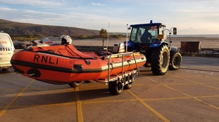 Barmouth inshore lifeboat Craig Steadman