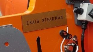 Craig Steadman was a volunteer