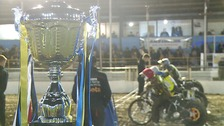 The trophy which eluded Ipswich Witches at Foxhall Stadium after losing the Championship Grand Final to Sheffield