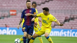 Barcelona played their La Liga match against Las Palmas behind closed doors due to independence referendum protests