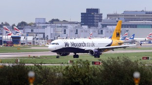 300,000 bookings cancelled as Monarch Airlines collapses